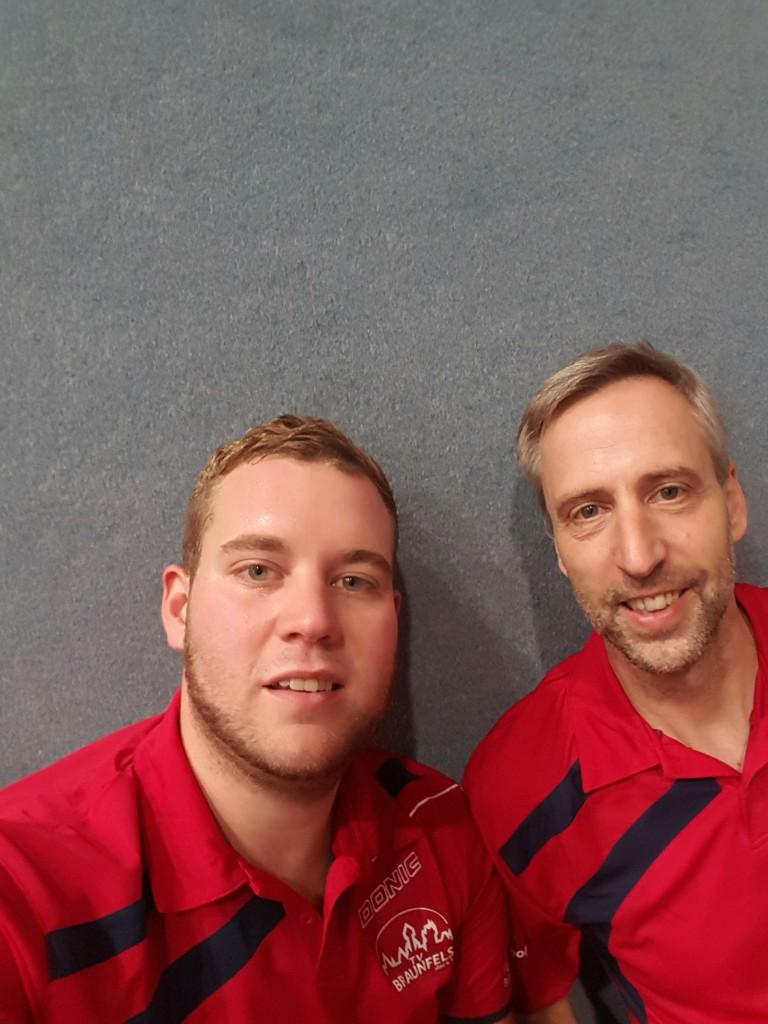 Die beiden Ungeschlagenen: Felix Friedrich und Markus Schol