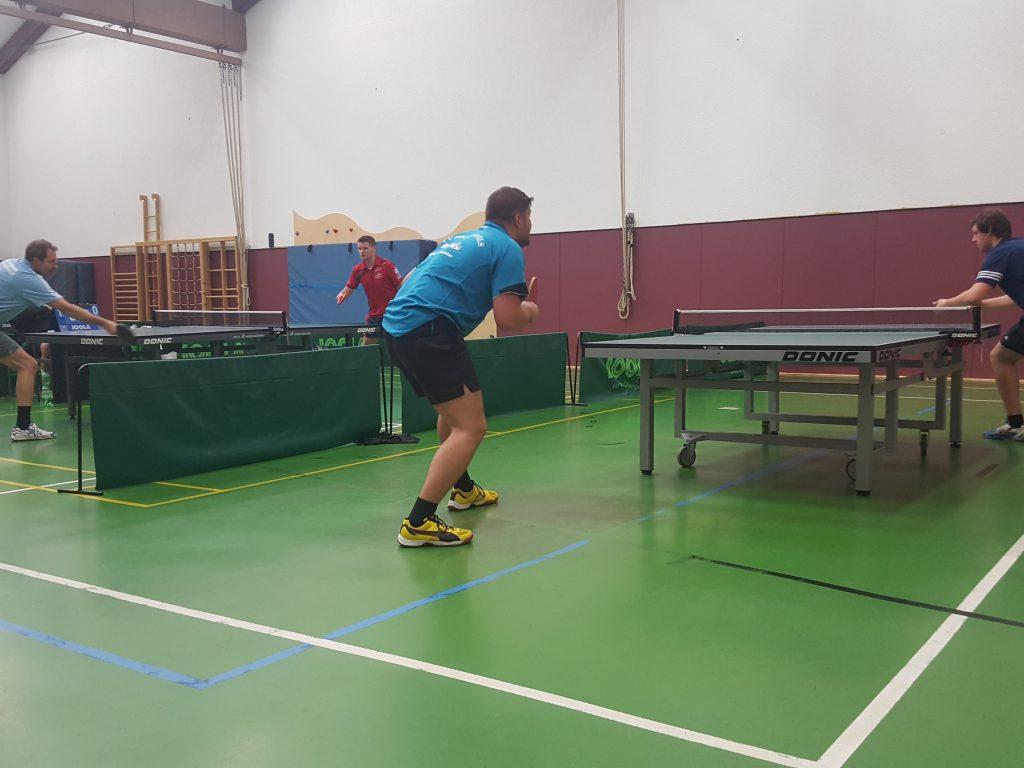 Starke Leistung der beiden Spitzenspieler: l.: Marcin Menich und r.: Eugen Eirich